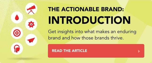 The Actionable Brand: Introduction
