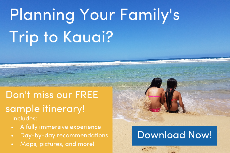 Kauai Hawaii Itinerary