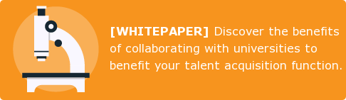 [WHITEPAPER] Discover the benefits of collaborating with universities to  benefit your talent acquisition function.