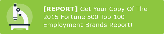 [REPORT] Get Your Copy Of The 2015 Fortune 500 Top 100 Employment Brands  Report!