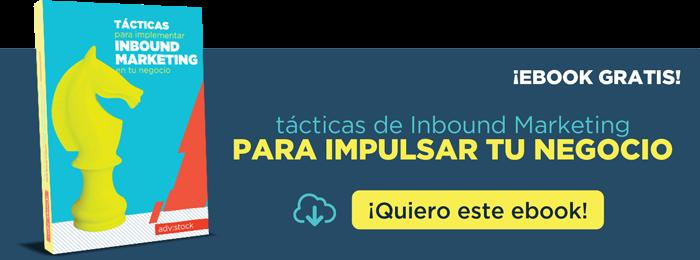 """Descarga el eBook """"Tácticas de Inbound Marketing para hacer crecer tu negocio"""""""