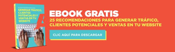 ebook 25 recomendaciones para generar trafico a tu website