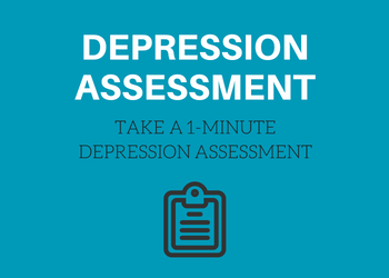 Take a free one-minute depression symptoms assessment quiz