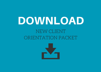 Download new client orientation packet for TTHI Counseling Center