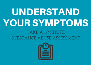 Free one-minute substance abuse assessment from TTHI Counseling Center