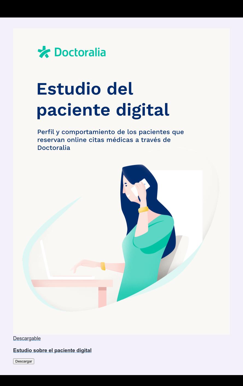 Descargable  Estudio sobre el paciente digital Descargar