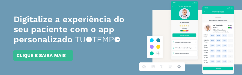 TuoTempo | CRM com app para hospitais