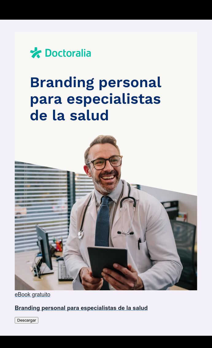 eBook gratuito  Guía sobre branding personal para especialistas de la salud Descargar