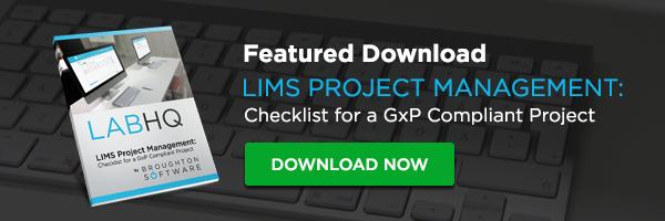 GxP Compliant Checklist