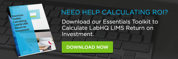 essentials toolkit labhq lims roi