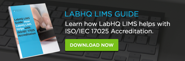 labhq lims helps with iso/iec 17025 accreditation guide