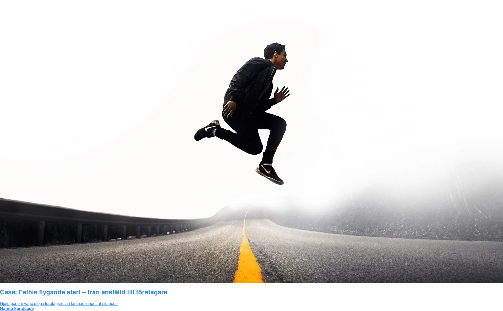 Case: Fathis flygande start – från anställd till företagare  Hjälp genom varje steg i företagsresan lämnade inget åt slumpen Hämta kundcase