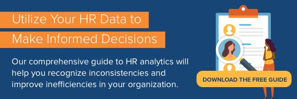 Download our free HR analytics guide to make informed workforce decisions