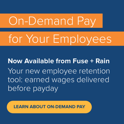 Rain and Fuse On-Demand Pay