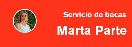 Solicita cita previa con Marta Parte del Servicio de Alumnos y Becas