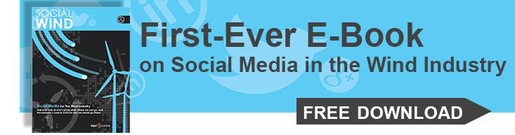 Social media in the wind industry ebook link