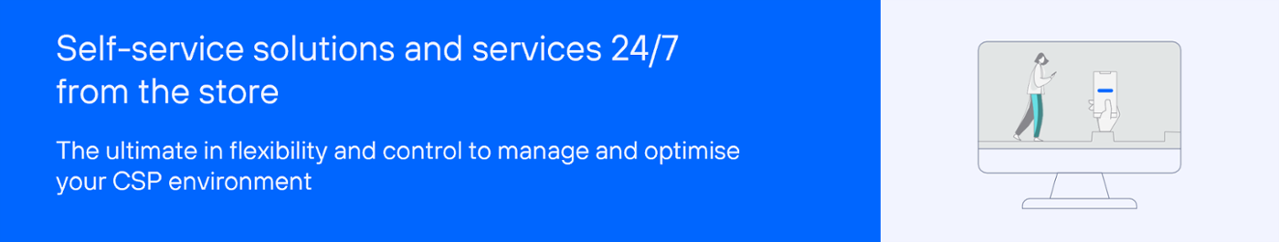 solutions and services 24/7 from the store