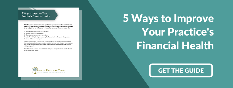 5 Ways to Improve You Practice's Financial Health