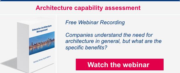 Webinar recording. Architecture capability assessment