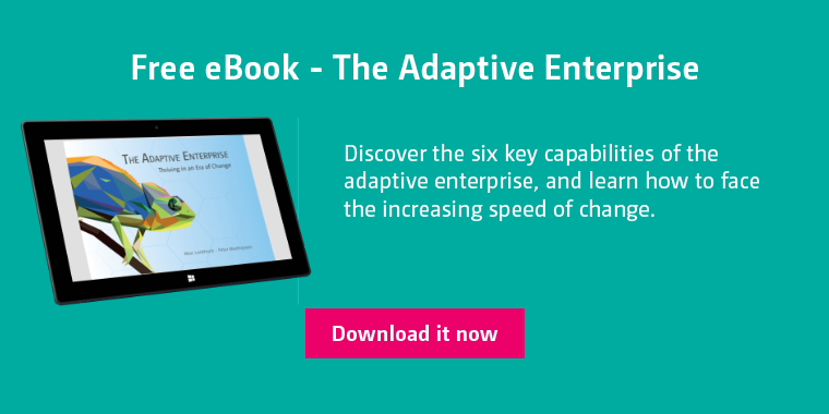 Free eBook about the Adaptive Enterprise