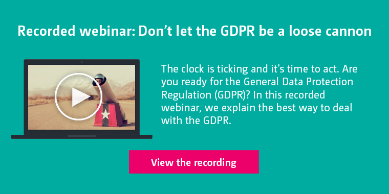 GDPR Recorded Webinar May 23 - 2017