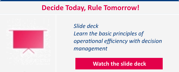 Decide Today Rule Tomorrow slide deck