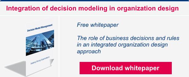 Download Integration of decision modeling in organization design