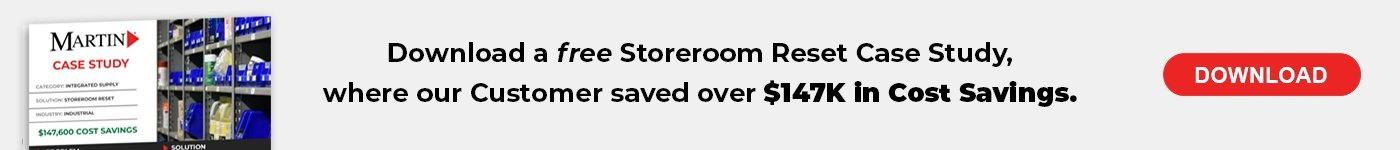 Storeroom Reset Case Study