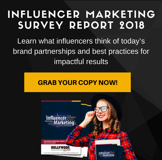 influencer marketing survey 2018