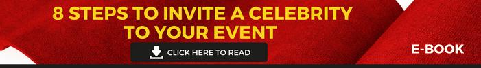 Celebrity invite to brand event ebook