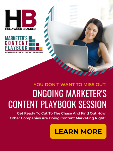 marketer's content playbook