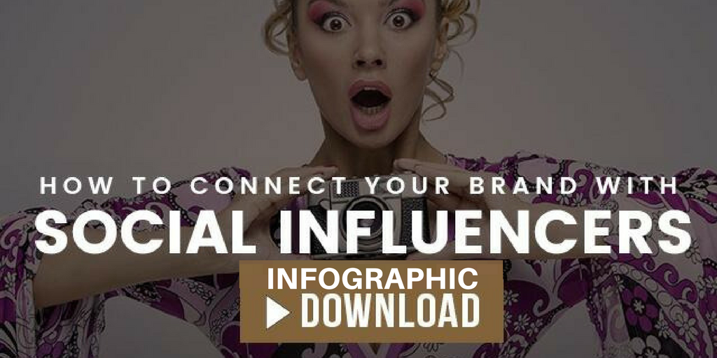 social influencer infographic guide