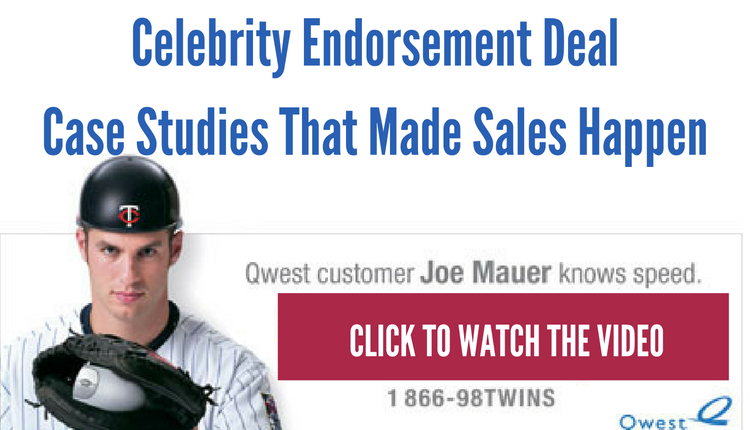Celebrity Endorsement Deal Case Studies That Made Sales Happen Video