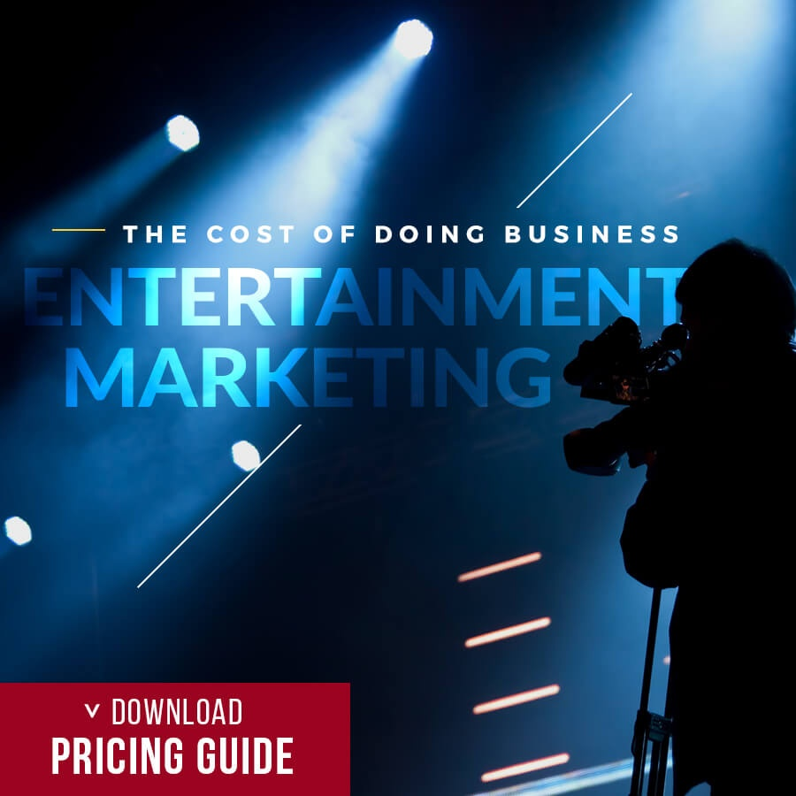 the cost of doing business entertainment marketing