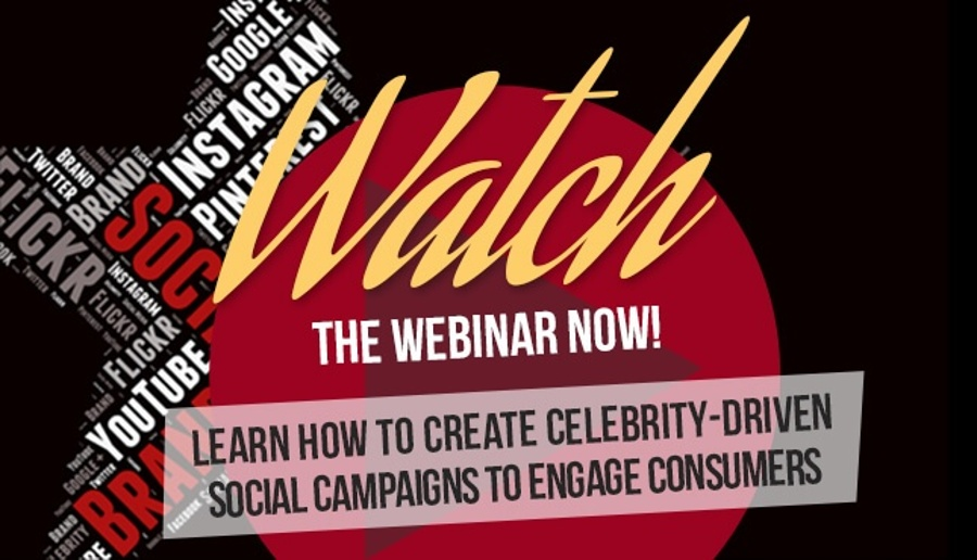 Celebrity Social Media Webinar by Hollywood Branded