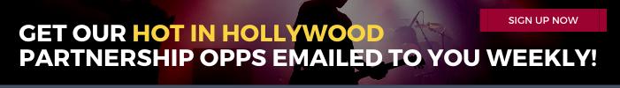 Hot In Hollywood Hollywood Branded eNewsletter