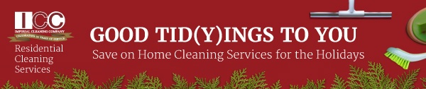 Holiday Residential Cleaning Sale