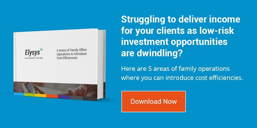 eBook: 5 Areas of Family Office Operations to Introduce Cost Efficiencies