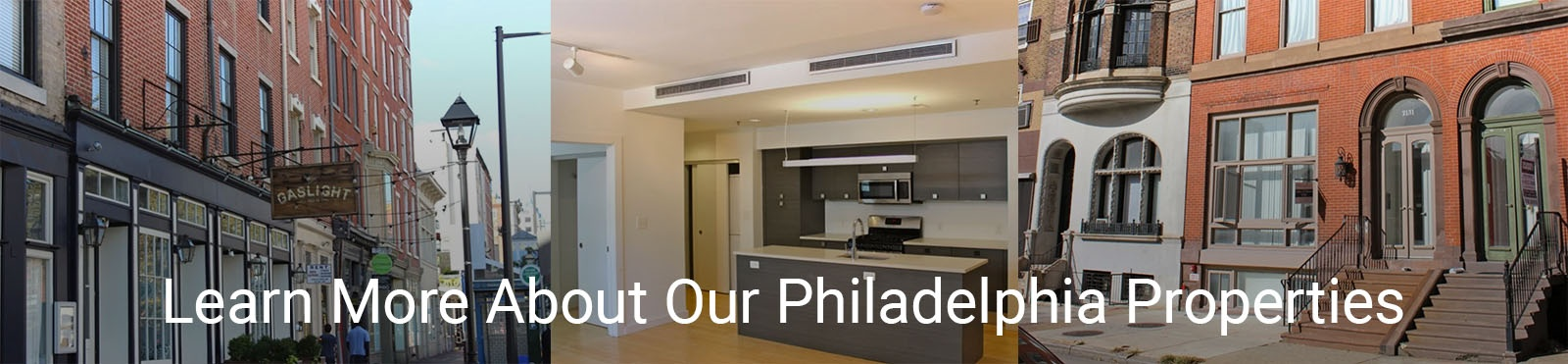 Learn More About our Philadelphia Properties