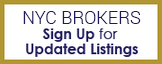 NYC Brokers Sign Up for Updated Listings