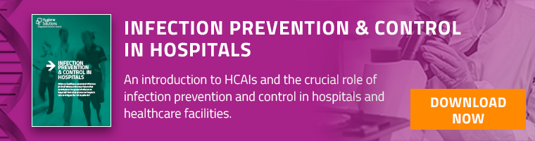 Infection prevention and control in hospitals