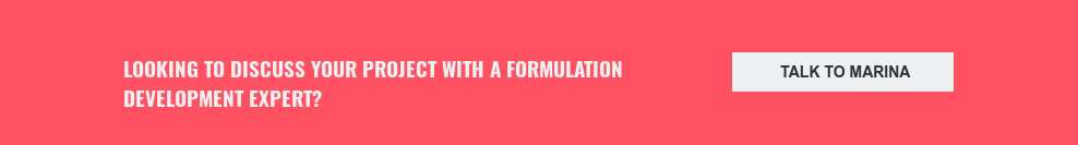 Looking to discuss your project with a formulation development expert? Talk to Marina