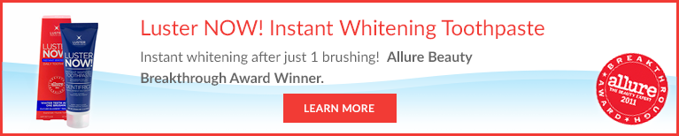 Luster Now Instant whitening toothpaste