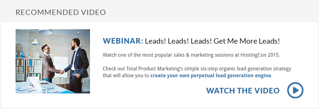 Watch the Webinar: Leads! Leads! Leads! Get Me More Leads!