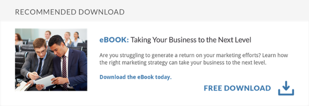 Download the eBook: Taking Your Business to the Next Level