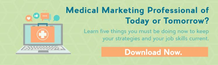 Medical Marketing Professional of Today or Tomorow?