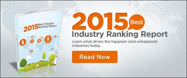 2015 TINYpulse Industry Ranking Report