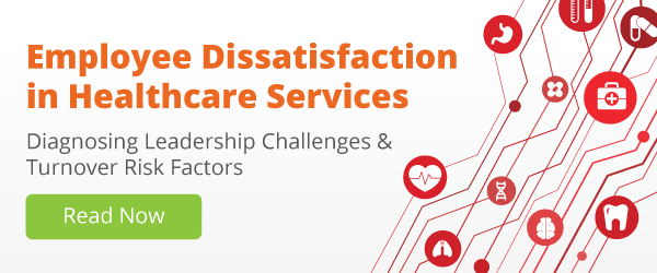 Employee Dissatisfaction in Healthcare Services by TINYpulse