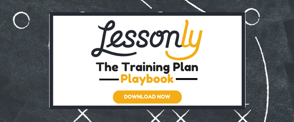 Lessonly Training Plan Playbook
