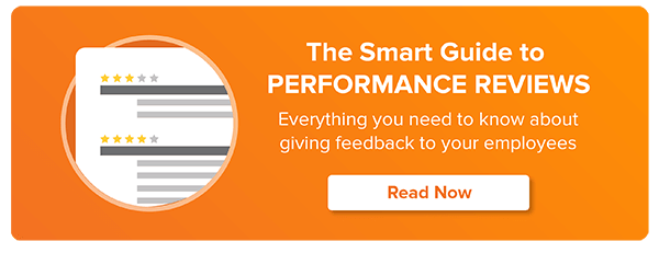 READ MORE: THE SMART GUIDE TO PERFORMANCE REVIEWS